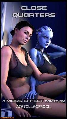 Goodcomix Mass Effect - [AyatollaOfRock] - Close Quarters