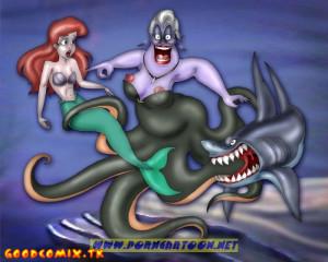 Goodcomix The Little Mermaid - [PornCartoon] - Delicious Shark