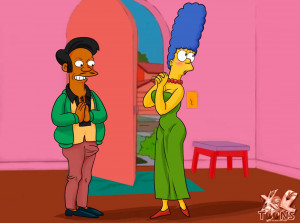 Goodcomix The Simpsons - [XL-Toons] - Marge Saw Something Interesting