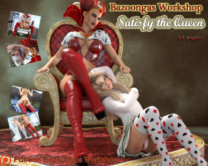 Goodcomix Alice in Wonderland - [Bazoongas Workshop][3D] - Satisfy the Queen