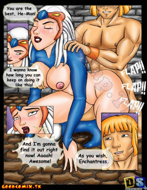 Goodcomix He-Man and She-Ra: The Secret of the Sword - [Drawn-Sex][Ujinko] - Sexy Warrior Sex-Man