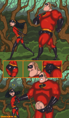 Goodcomix The Incredibles - [Mnogobatko] - The Incredibles 1 - Walk With Dad