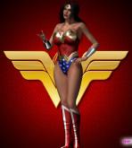 Wonder Woman - [MrBunnyArt] - Wonder Woman vs Cain