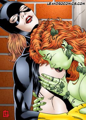 Goodcomix Batman - [Leandro Comics] - Poison Ivy Gives Batgirl Hot Lesbian Sex