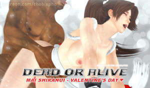 Goodcomix Dead or Alive - [CHOBIxPHO] - DOA MAI SHIRANUI - VALENTINE'S DAY