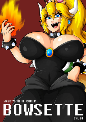 Goodcomix Super Mario Bros - [Witchking00] - Bowsette Mini Comic Ch.01