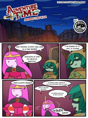 Goodcomix Adventure Time - [Inker Shike] - Before the War