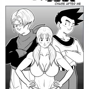 Dragon Ball - [FunsexyDragonBall (FunSexyDB)] - Chase After Me: Goten x Marron x Trunks