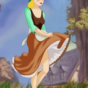 Cinderella - [CartoonValley] - Cinderella the Peasant Babe Gets Nude Outdoors (2004.04.17)