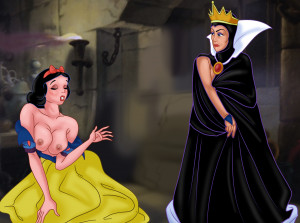 Goodcomix Snow White - [XL-Toons] - Princess and the Queen Have Hot Lesbian Sex
