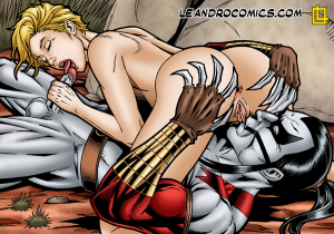 Goodcomix Cyberforce - [Leandro Comics] - Ripclaw Gives The Beautiful Ballistic The Fuck of Her Life