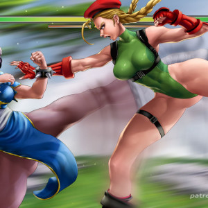 Street Fighter - [Legitimate] - Chun-Li x Cammy