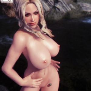 The Witcher - [Tinkerbomb] - Ciri in Skyrim