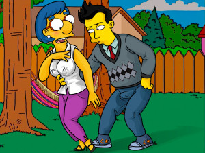 Goodcomix The Simpsons - [XL-Toons] - Milhouse's Mom Has Sex With A Younger Man