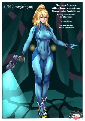 Goodcomix Metroid - [Otakusexart.com (Limn, Jberserk)] - Samus Aran's Alien Impregnation Creampie Fucktime (Clean)