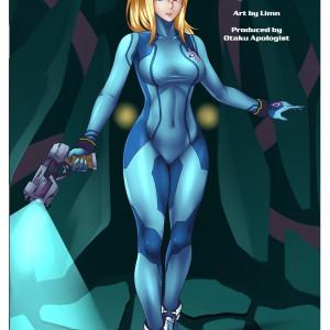 Metroid - [Otakusexart.com (Limn, Jberserk)] - Samus Aran's Alien Impregnation Creampie Fucktime (Clean)