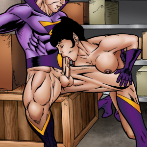 DC Comics - [Leandro Comics] - Zan Bangs Jayna's Ass and Fills Her Mouth With Cum (Wonder Twins)