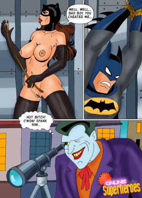 Goodcomix Batman - [Online SuperHeroes][Comics][14] - Catwoman Has a Split Personality