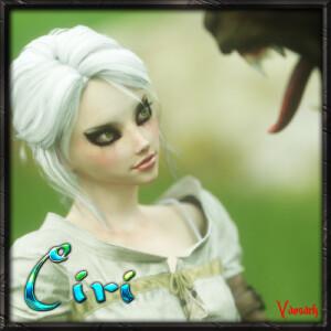 Goodcomix The Witcher - [Vaesark](CGS 117) - Ciri