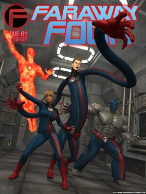 Goodcomix Fantastic Four - [Danger Babe Central] - Far Away Four!