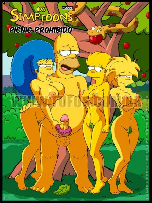 Goodcomix The Simpsons - [Tufos] - Os Simptoons 008 - Piquenique Proibido