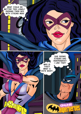 Goodcomix Batman - [Online SuperHeroes][Comics][08] - Hungry Huntress and Horny Batman Meet For Hot Sex