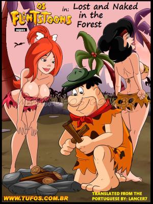 Goodcomix The Flintstones - [Tufos][Croc] - Os FlinTsToons 003 - Perdidas e Peladas Na Floresta