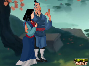 Goodcomix Mulan - [CartoonValley][NEW] - Mulan enjoys getting fucked very hard by Fa Zhou