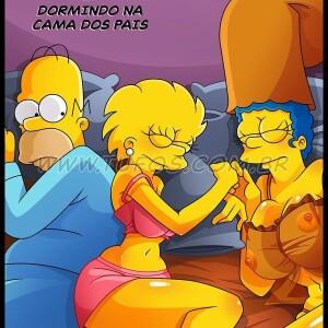 The Simpsons - [Tufos][Croc] - Os Simptoons 019 - Dormindo Na Cama Dos Pais