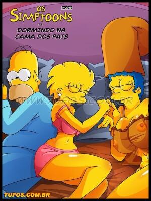 Goodcomix The Simpsons - [Tufos][Croc] - Os Simptoons 019 - Dormindo Na Cama Dos Pais