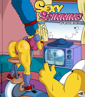 Goodcomix The Simpsons - [Kogeikun] - Sexy Spinning