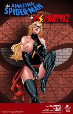 Goodcomix Marvel Universe & Marvel Comics - [Tracy Scops] - The Amazing Spider-Man & Ms. Marvel
