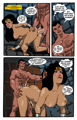 Goodcomix Justice League - [Diana Bruce] - Themysciran Dungeons