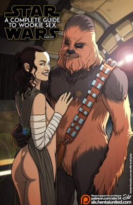 Goodcomix Star Wars - [Fuckit (Alx)] - A Complete Guide to Wookie Sex