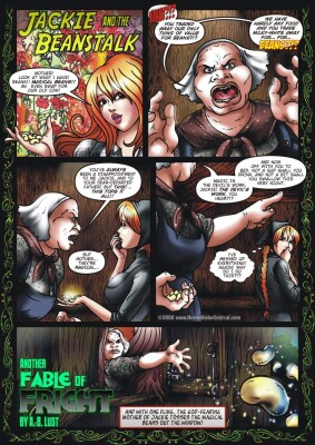 Goodcomix Jack and the Beanstalk - [HorrorBabeCentral][A.B. Lust] - Another Fable of Fright - Jackie and the Beanstalk Part 1 of 3
