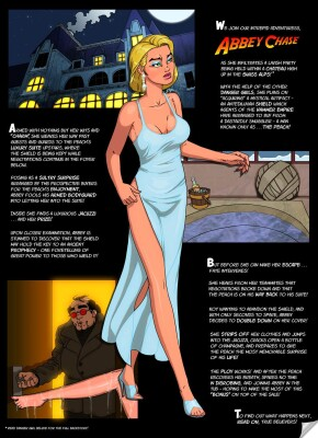 Goodcomix Danger Girl - [Studio-Pirrate] - Abbey And The Peach