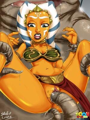 Goodcomix Star Wars - [ToonFanClub][Sketch Lanza] - Ahsoka Testing Sex