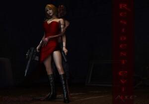Goodcomix Resident Evil - [Mongo Bongo] - Alice & Zombie