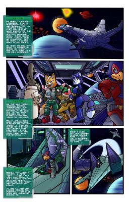 Goodcomix Star Fox - [Dreamcastzx1] - Assault and Flattery