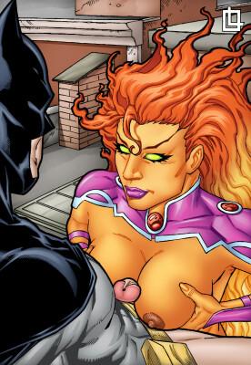 Goodcomix DC Comics - [Leandro Comics](G440) - Batman and Starfire Have a Hot Fuck