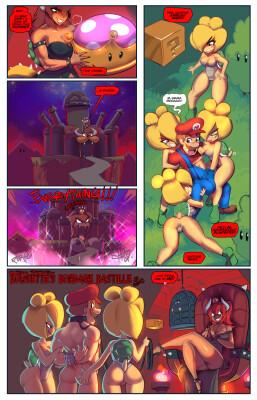 Goodcomix Super Mario Bros - [Fred Perry] - Bowsette's Bondage Bastille (#12of12)