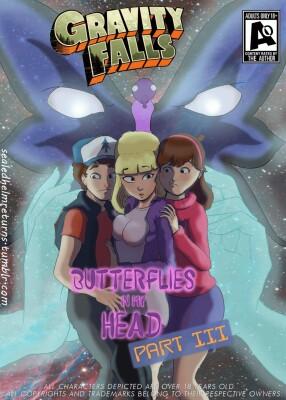 Goodcomix Gravity Falls - [SealedHelm] - Butterflies In My Head Part 3