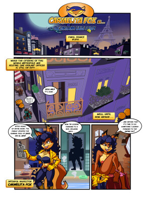 Goodcomix Sly Cooper - [Dreamcastzx1][Escopeto] - Carmelita Fox in Bedroom Custody
