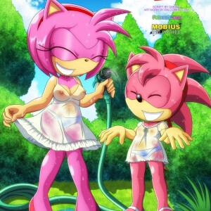 Sonic - [Palcomix][Mobius Unleashed] - Classic and Modern Love