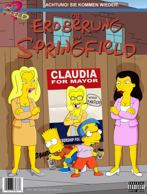 Goodcomix The Simpsons - [Claudia-R(Riviera)] - 2 - Conquest Of Springfield 2