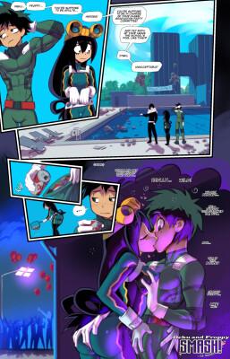 Goodcomix My Hero Academia - [Fred Perry] - Deku and Froppy SMASH! (#12of12)