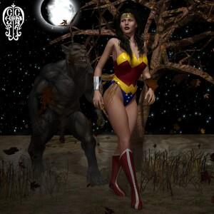 Goodcomix Wonder Woman - [Chup@Cabra] - Diana vs The Lycan