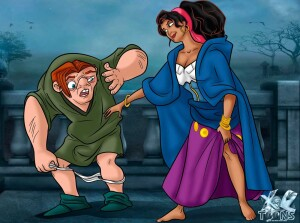 Goodcomix The Hunchback of Notre-Dame - [XL-Toons] - Esmeralda Has a Hot Sexual Encounter With Her Hunchbacked Lover