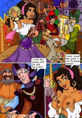 Goodcomix The Hunchback of Notre-Dame - [CartoonValley][Comic] - Esmeralda fucks the Hunchback and his gargoyles