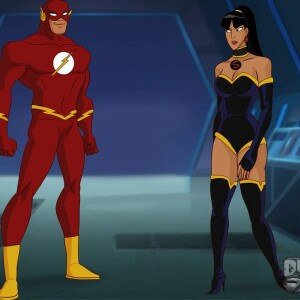 Justice League - [Online SuperHeroes][Max] - The Flash Enjoys Lightning Fast Anal Sex With A Fellow Justice League Member!